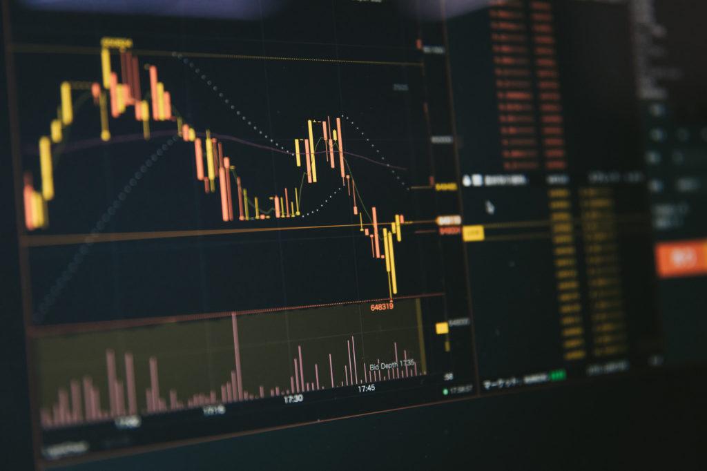 株価下落、新型コロナウイル